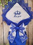 Конверт с вышивкой  для новорожденных весна-лето-осень,   78*78 см, фото 5