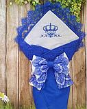 Конверт с вышивкой  для новорожденных весна-лето-осень,   78*78 см, фото 6