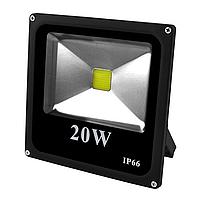 Прожектор светодиодный матричный 20 Вт COB IP66 Черный (gab_rp180erhhkbke)