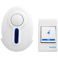 Беспроводной дверной звонок Baoji 620 DС Белый (gab_rp110jbrgjkskа)