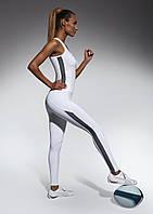 Женские спортивные леггинсы Bas Bleu Imagin M Белый (bb0014)