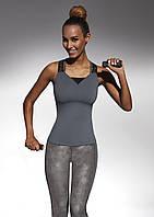 Женский спортивный топ Bas Bleu Flint Top 50 размер S Серый (bb0104)