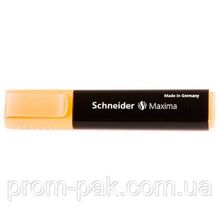 Текстовый  маркер Schneider Maxima оранжевый, фото 2