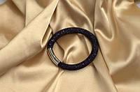 Одинарный браслет  в стиле Stardust Swarovski  Чернильный Премиум