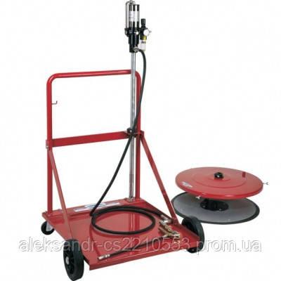 Flexbimec 4990С - Передвижной комплект для пневматической смазки для бочек 180 кг
