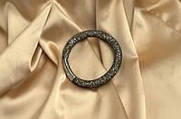 Одинарный браслет  в стиле Stardust Swarovski Золотой Сверкающий Премиум