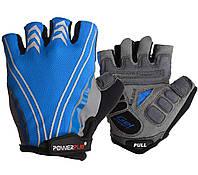 Велорукавички 5007 B Блакитні L R144745