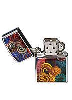 Зажигалка DM 01 Спирали разноцветная - 176904