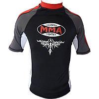 Рашгард Power System 004 Scorpio L Черный (MMA-004_L_Red-Black)