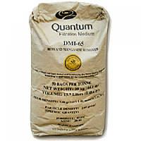 Фильтрующий материал Quantum DMI-65 (удаление железа и марганца), 21 кг