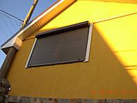 Защитные ролеты на окна Alutech
