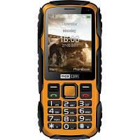 Мобільний телефон Maxcom MM920 Black Yellow (5908235974019)