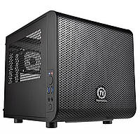 Корпус Thermaltake Core V1_без БП_2xUSB3.0_ черный_mini-ITX (CA-1B8-00S1WN-00)