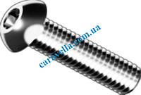 ISO 7380, винт с внутренним шестигранником из высокопрочной стали