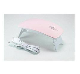 Ультрафиолетовая лампа Sun Mini 6W для наращивания ногтей арт. 1803-10