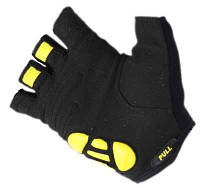 Перчатки для фитнеса SportVida SV-AG00033 (M) Black/Yellow