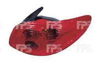 Фонарь задний для Peugeot 206 '03-09 левый (DEPO)
