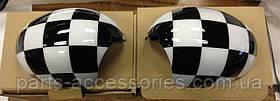 Mini Cooper R55 R56 R57 R60 R61 07-14 накладки на зеркала новые оригинал