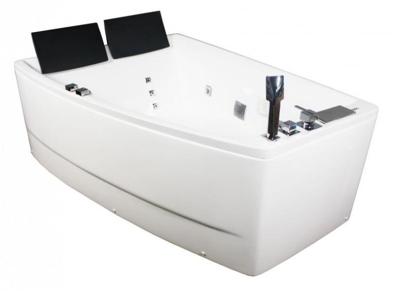 Гидромассажная ванна Volle 12-88-100 L левосторонняя, 1700х1200х630 мм