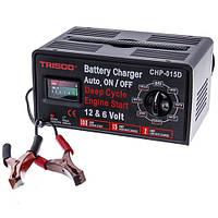 Пуско-зарядное устройство 6-12V, пусковой ток 100A, зарядный ток 15А, Trisco CHP-015D