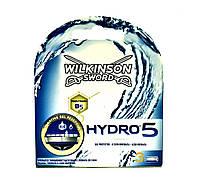 Сменные кассеты для бритья Wilkinson Sword Schick Hydro 5 3шт. (1052)