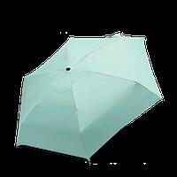 Складной карманный мини зонт Mini Umbrella Мятный (hubber-314)