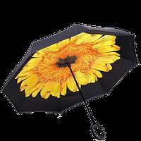 Зонт обратного сложения Up-brella Подсолнух (hubber-275)