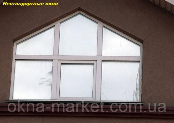Остекление домов нестандартными окнами