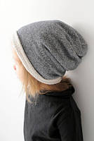 Новые демисезонные детские бини шапка чулок Хлопок. 46, 48, 50, 52, 54 см, фото 1