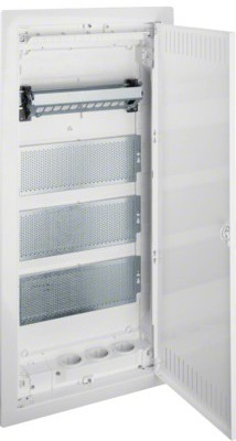 Щит 4-рядный для мультимедиа и связи, в/у с металлическими дверями, VOLTA VU48NWB