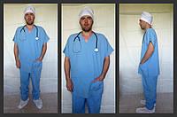 Медицинский костюм мужской классический