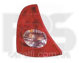 Фонарь задний для Renault Clio '01-05; правый (DEPO)