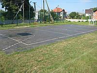 Резиновая плитка для спортивных площадок