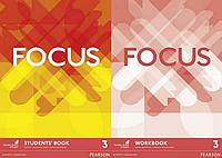 Английский язык комплект учебник и тетрадь Focus 3