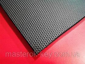 Микропористая резина 600*400*8,5 мм. цвет чёрный