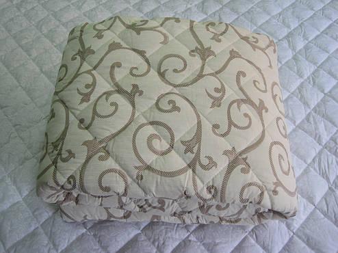 Одеяло силиконовое двухспальное 180*210 хлопок (2891) TM KRISPOL Украина, фото 2
