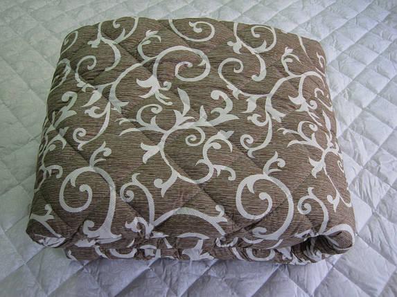 Одеяло силиконовое двухспальное евро 200*210 хлопок (2889) TM KRISPOL Украина, фото 2