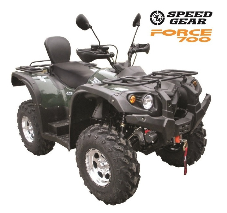 Мощный ATV квадроцикл SG FORCE 700 FULL 2014