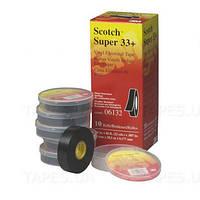 Изолента высшего класса Scotch™ 3M™ Super 33+, всепогодная, ПВХ самозатухающая (19мм x 6,09 м)