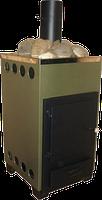Печи каменки для сауны, бани на твердом топливе. ДПК-8 внутренняя в корпусе.