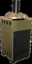 Печі кам'янки для сауни, лазні на твердому паливі. ДПК-8 внутрішня в корпусі.