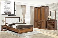 "Спальня ""Мира"" Комплект спальни с 4-х дв. шкафом (Скай)"