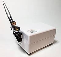 Аэрограф профессиональный Prim 1000B с мини-компрессором для ногтей