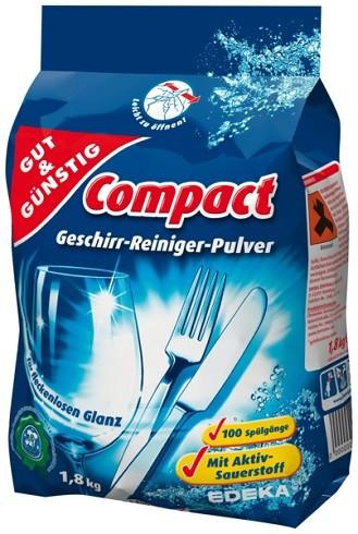 Порошок для посудомоечной машины Gut & Günstig 1,8 кг