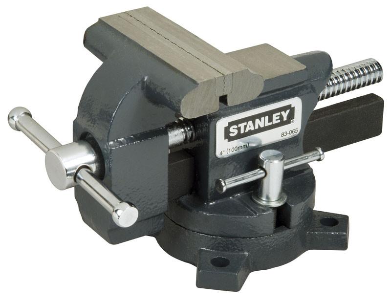 """Тиски 85мм """"MAXSTEEL"""" для небольших нагрузок (110кг)  STANLEY 1-83-065"""