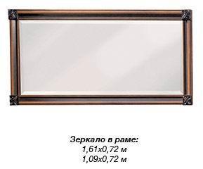 """Гостиная """"Терра Нова"""" Зеркало 1,61 (Скай)"""