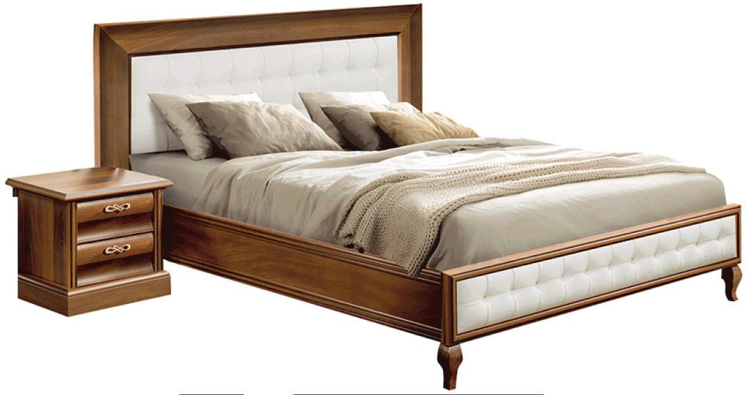 """Спальня """"С-2 New"""" Кровать 2-х сп. (160х200) (Скай)"""