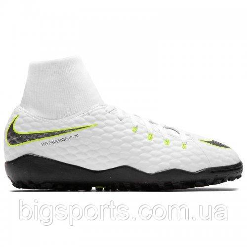 Бутсы футбольные для игры на жестких покрытиях дет. Nike Jr PhantomX 3 Academy DF TF (арт. AH7293-107)