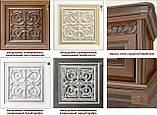 """Гостиная """"Тоскана/Toscana"""" Витрина 1-дверная вариант 2 (Скай), фото 3"""