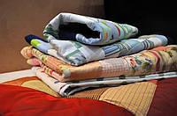 Детской Покрывало - одеяло в технике печворк ручной работы.